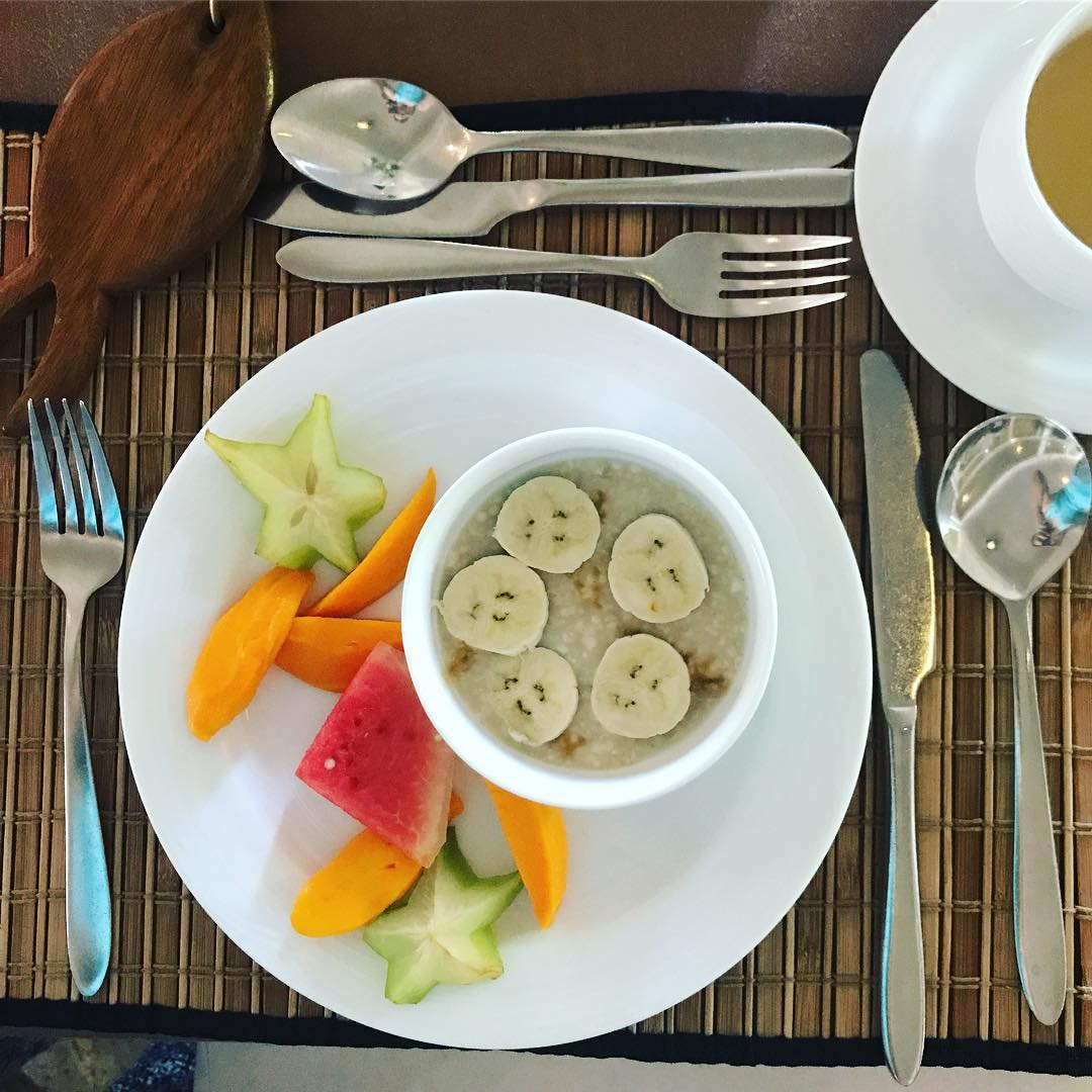 Another good start to my day @barberyn_resorts Lost 1.5kgs so far this trip by making the #healthy choices. You can read about my trip soon on @7starlifemag #wellbeing #ayurveda #breakfast #cleaneating #travel
