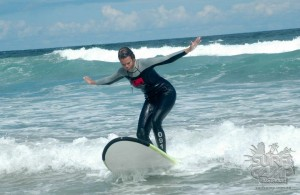 Proof of the surfing and my biggest shape